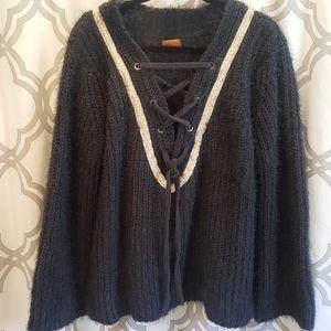 POL Oversized Chunky Knit Sweater M EUC